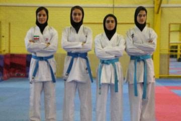 قهرمانی کاراته ایران دختران